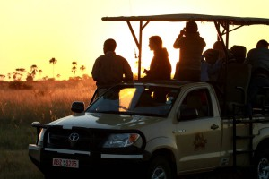 The Hide sunset game drive