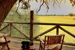 The Hide Hwange National Park View