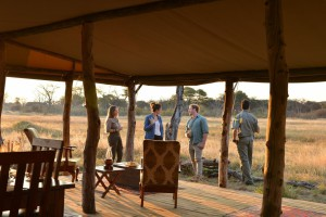 the hide national park private lounge