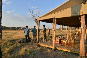 the hide national park private lounge safari view