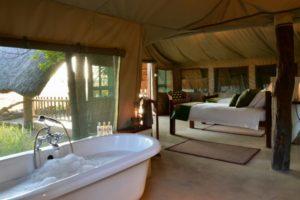 Deluxe Tents Bathtub