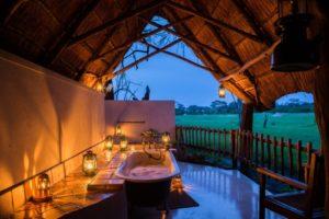Honeymoon Outdoor Bathtub