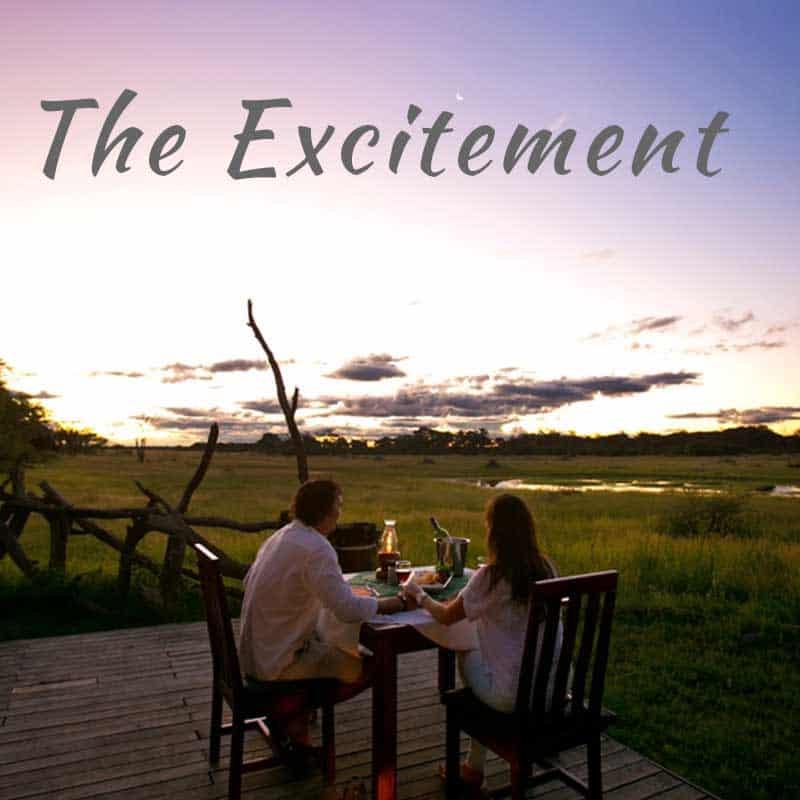 Romantic Safari Exictement
