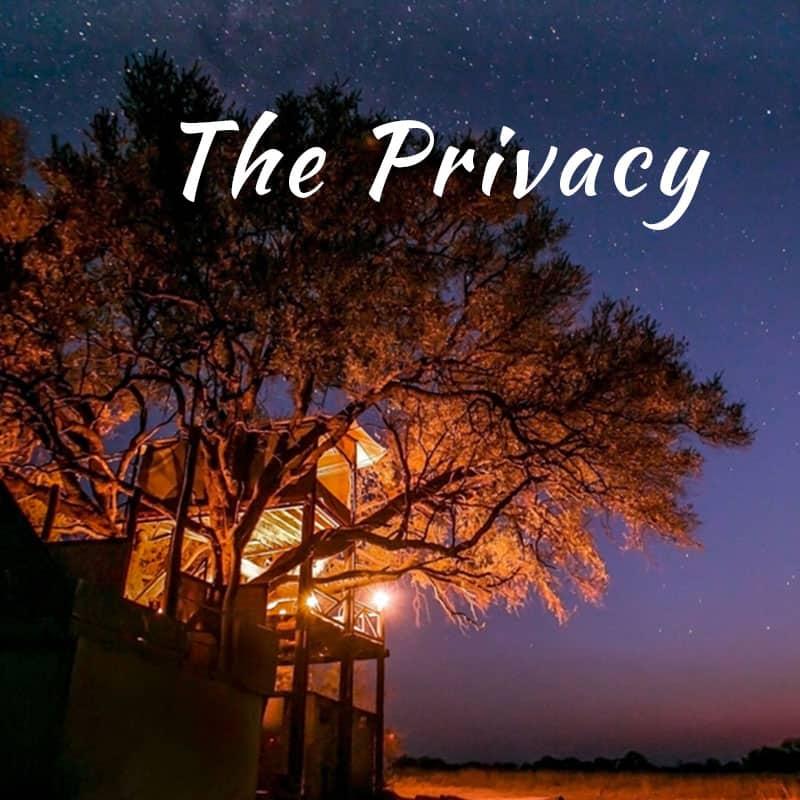 Romantic Safari Privacy