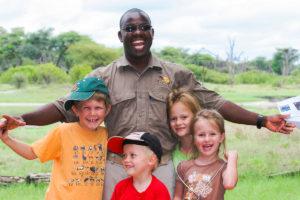 Children on Safari The Hide