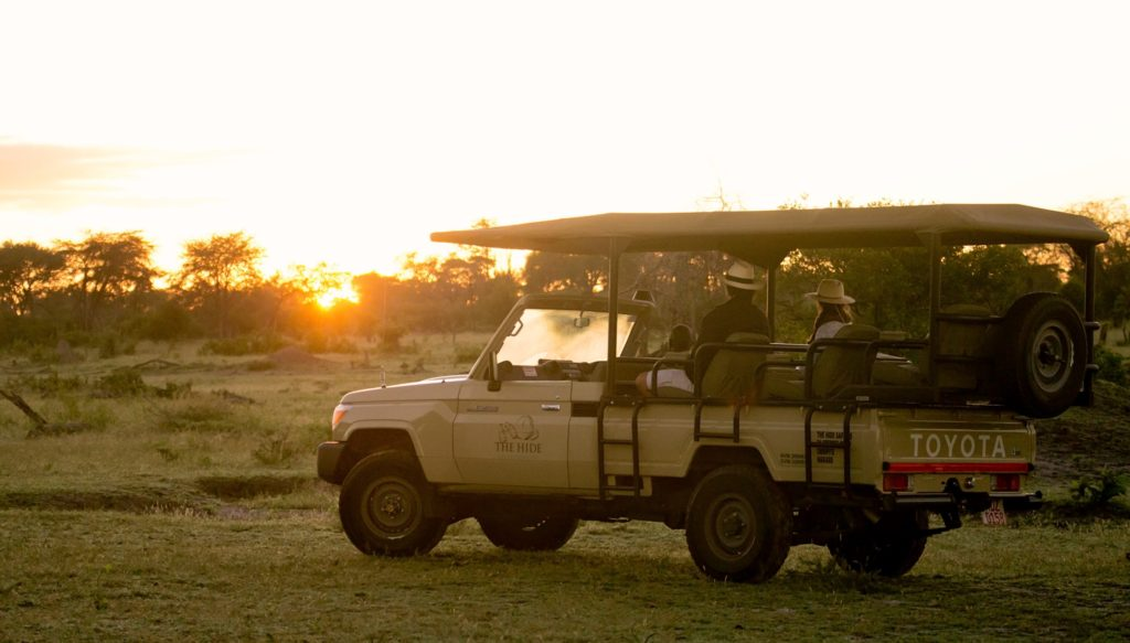 Game Drive At The Hide Hwange National Park