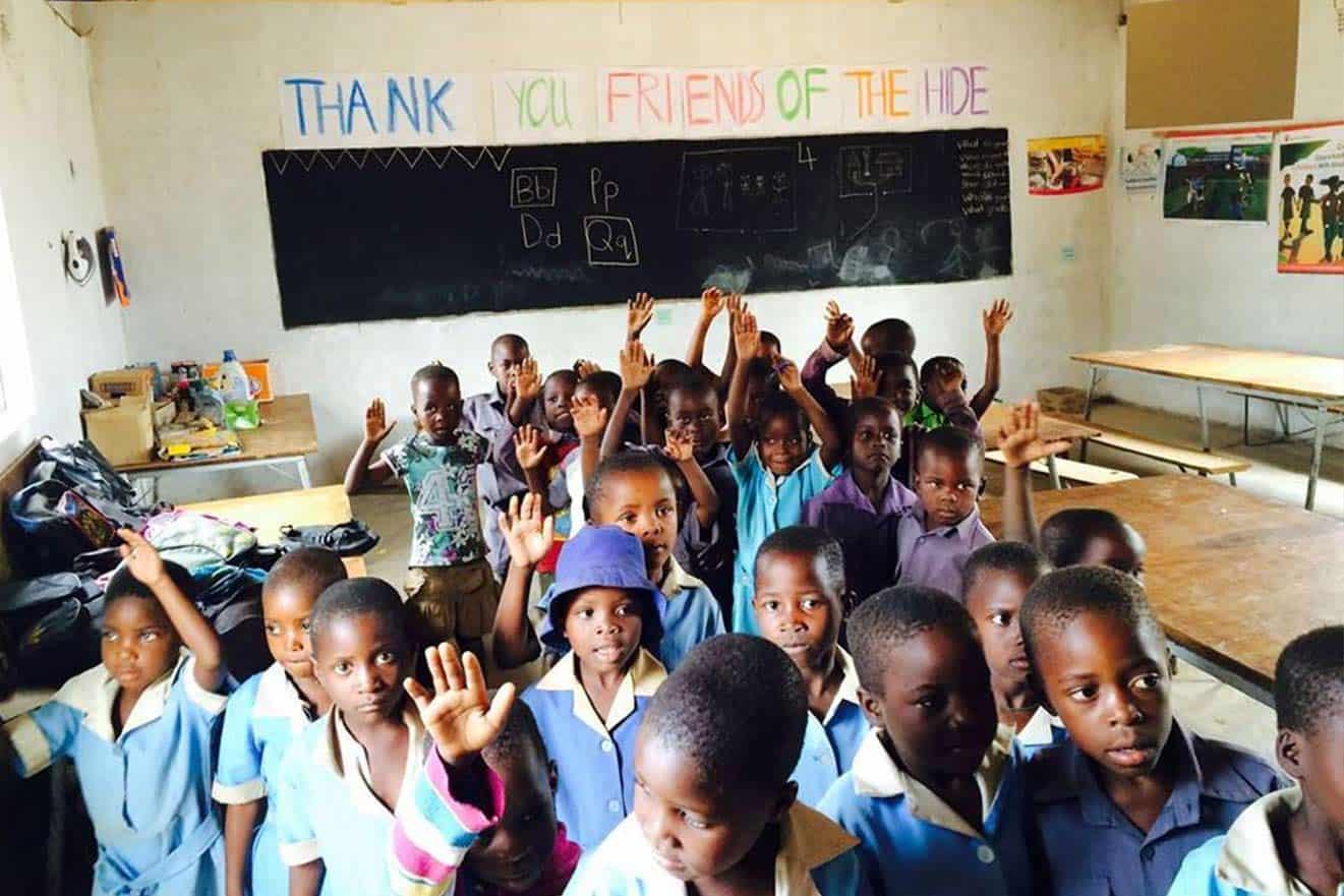 School Children The Hide Community Trust