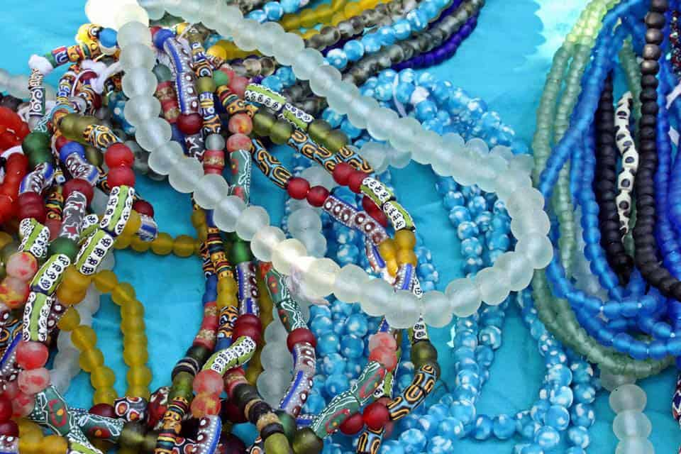 Glass Bead Bracelets The Hide Gift Shop