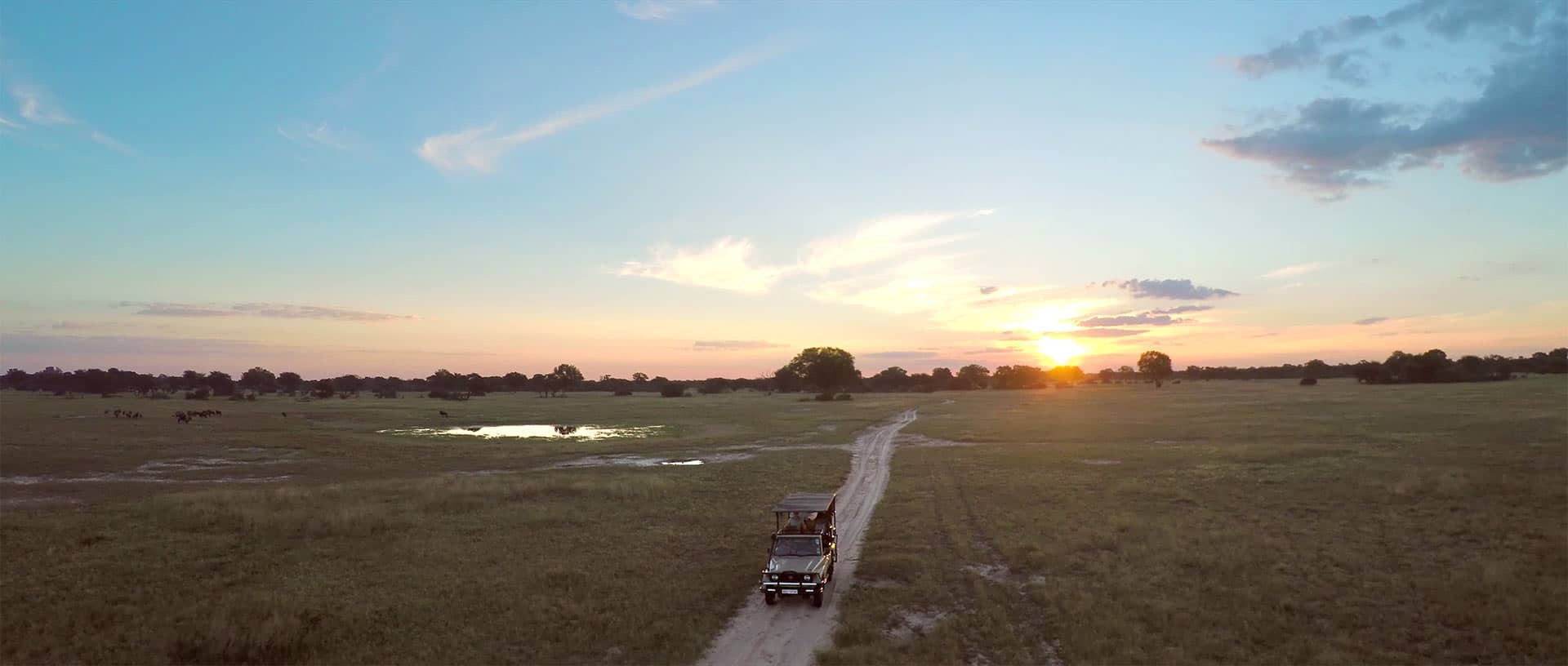 Game drive at Hwange National park The Hide