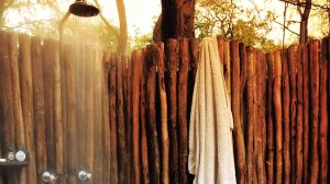 The Hide Main Lodge Outdoor Shower