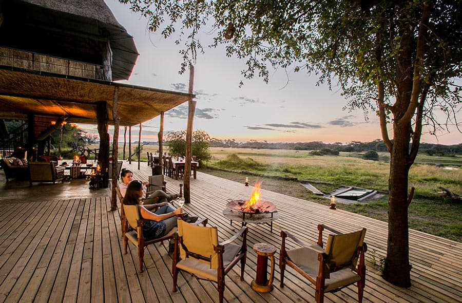 Main A-Frame Lodge The Hide Hwange National Park