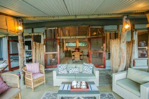 Toms Hide Outside Seating Area