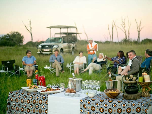 Dining Hwange National Park - The Hide