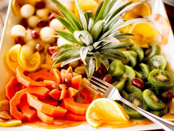 Breakfast Fruit Platter The Hide