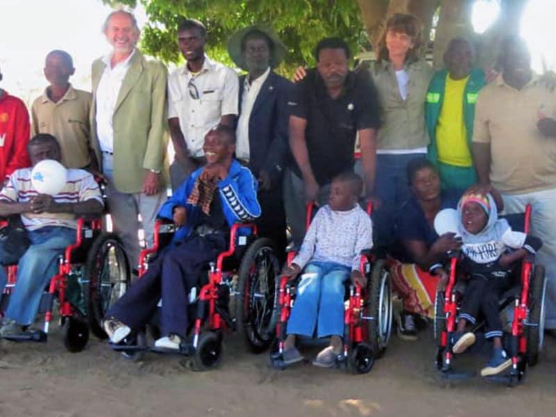 Mavros Wheelchair Ceremony Gallery