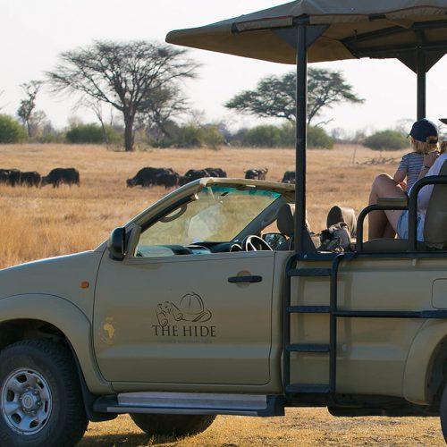 Family Safari The Hide Game Drive